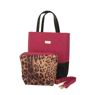 Alvaro Castagnino Pink Handbag
