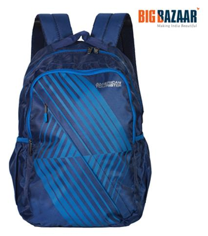 American Tourister Timbo Plus 01 Backpack (Blue)