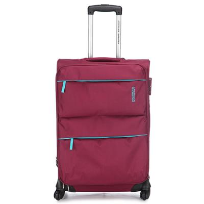 American Tourister 90X (0) 76 102 A.T Velocity SP66Cm Pink Luggage bag