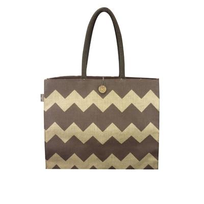 Angesbags Brown And Yellow Handbag