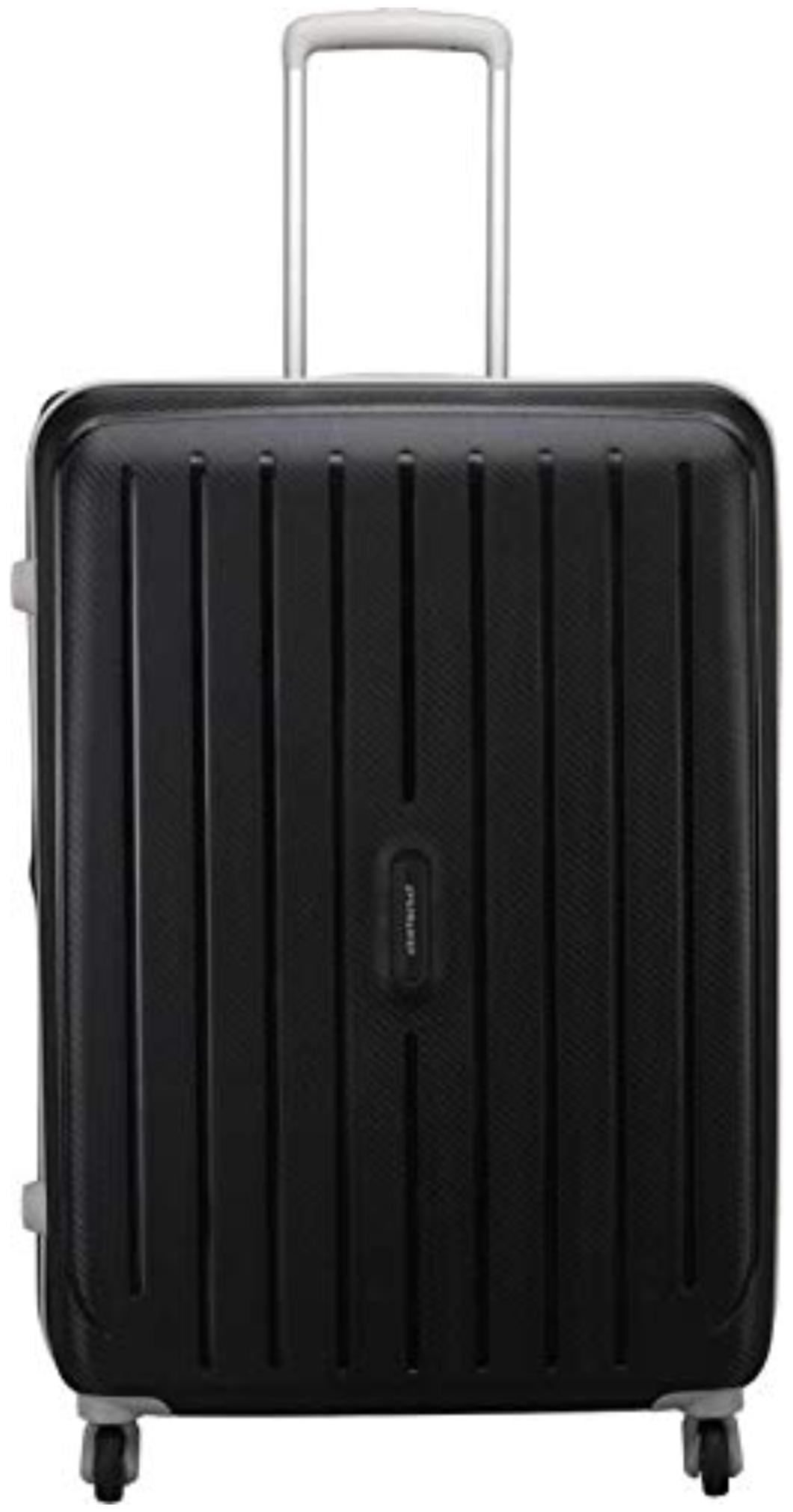Aristocrat Photon Strolly 75 360 Jbk Check-in Luggage - 29 inch (Black)