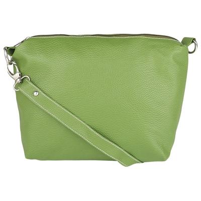 Borse Green PU Sling Bag
