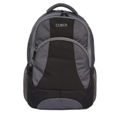 CORUS GREY BLACK591P00 STYLISH LAPTOP BAG