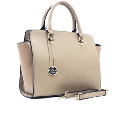 Diana Korr Beige Claire PU Handbag