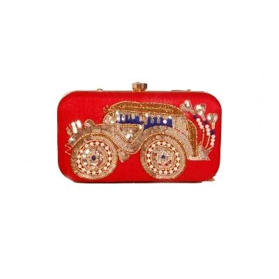 Fashion Fancy Stylish Elegant Synthetic Handmade Wallet/ Clutch/ Purse for Girls and Women.