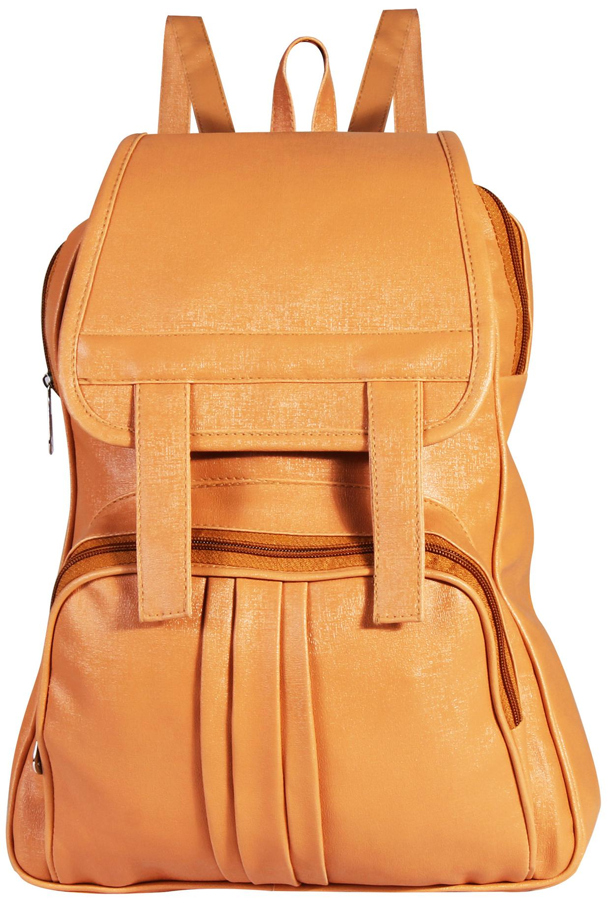 Gen-Y GYB-19 Brown Tan 8L Backpack for Women and Girls