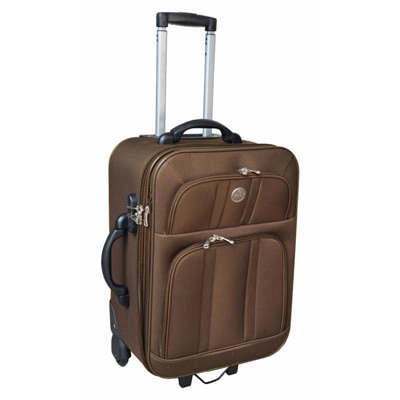 Genex Brown Trolley Bag(Small Cabin Luggage)