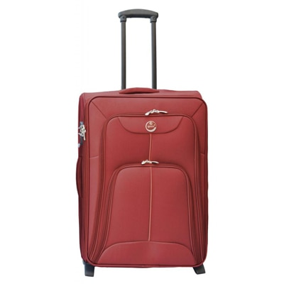 Genex Red Trolley Bag(Large Check-in Luggage)