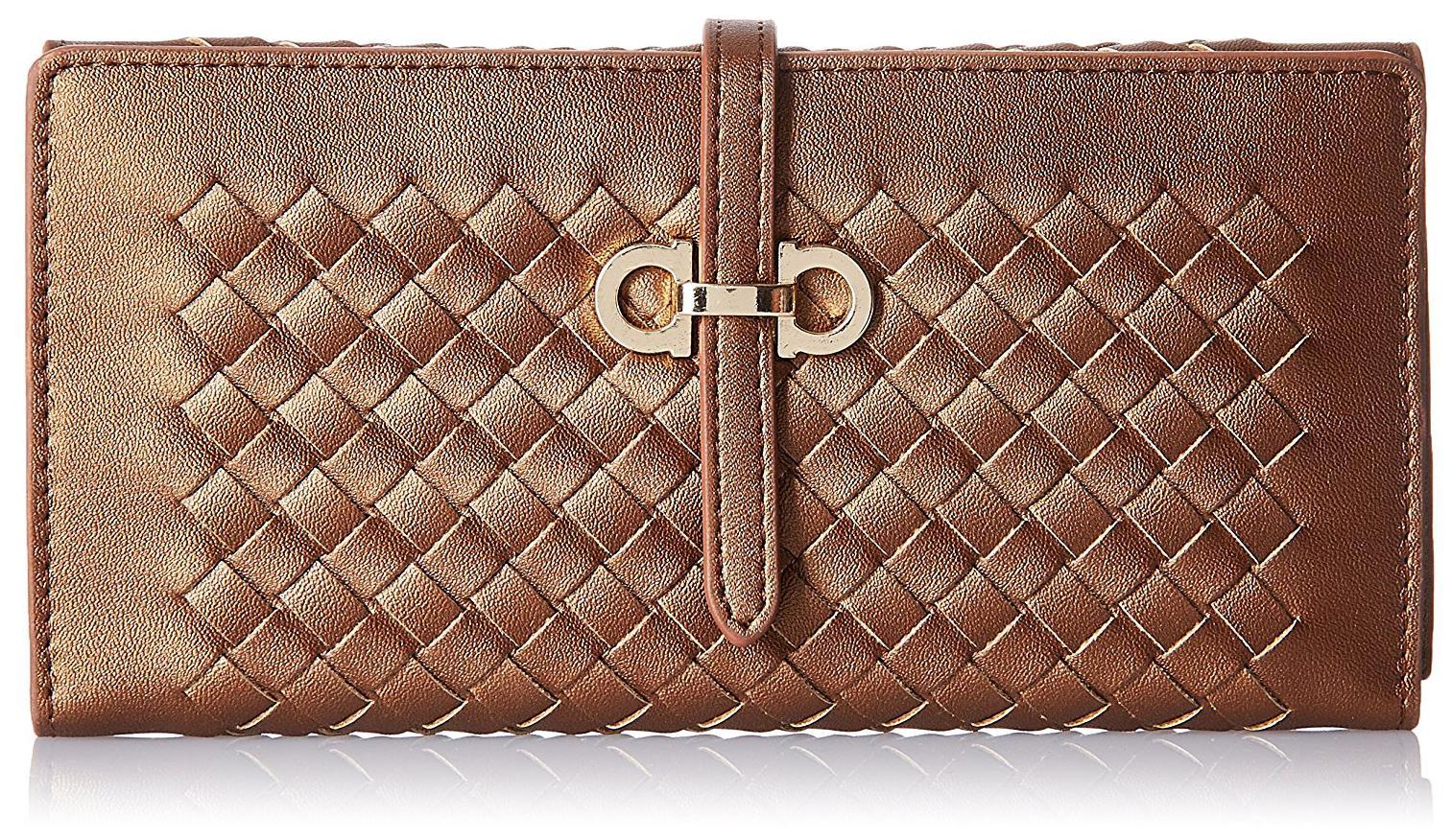 Giordano Women's Wallet (Bronze;2917497031;Wl14Bz)