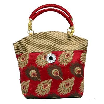 Kuber Industries Maroon Handbag
