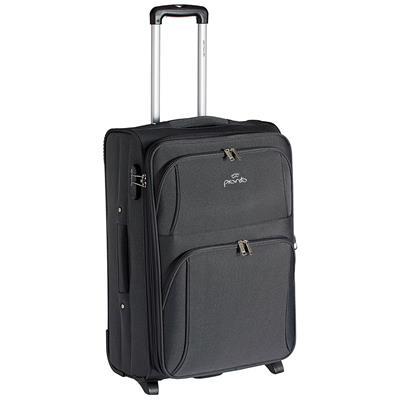 Pronto Grey Polyester Strolley Bag