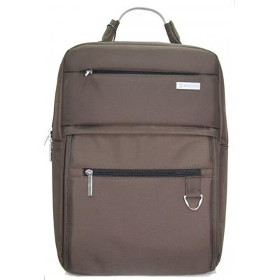 Shao Long EF21 Brown Nylon Laptop Bag
