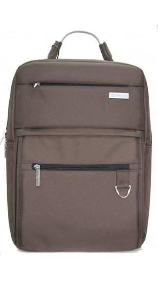 Shao-Long-EF21-Brown-Nylon-Laptop-Bag
