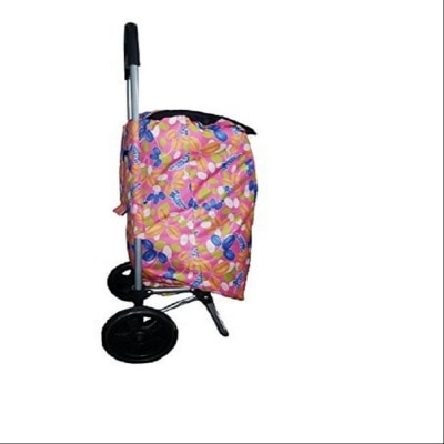 Fit World Shopping Trolley Bag (Pink Color)