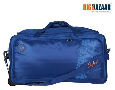 Skybags Cardiff Polyester Travel Duffle 52cms - The Indian Deals d80ec68d4a1e9