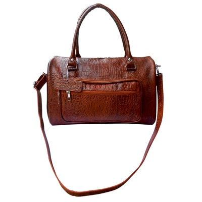 Stylogy Picnic Light Brown Leather Tote