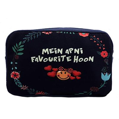 The Crazy Me Main Apni Favourite Toiletry Bag
