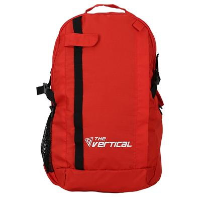 The Vertical Frost Red Backpack