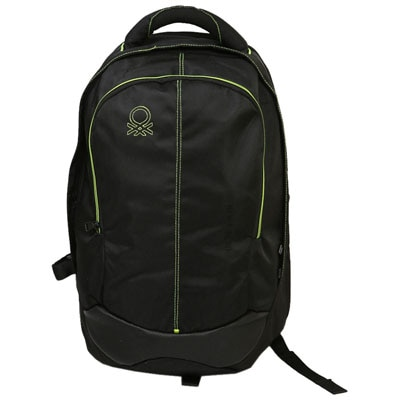 United colours of benetton Black Rayon Backpacks