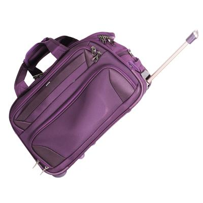 Ventex 20 Dark Purple Duffel Trolley Bag