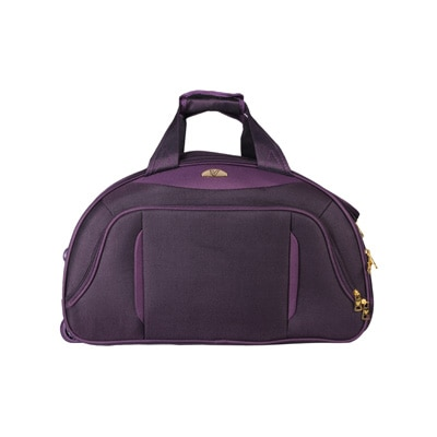 VERAGE Erevan 1393 Purple light weight Cabin 2 Wheel Duffle Trolley