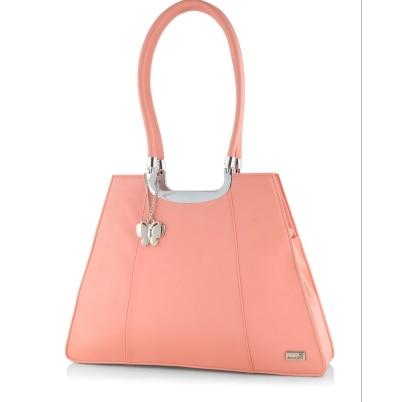 Butterflies Pink Women Handbag