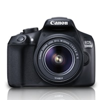 Canon EOS 1300D (EF S18-55 IS II) 18 MP DSLR Camera (Black)