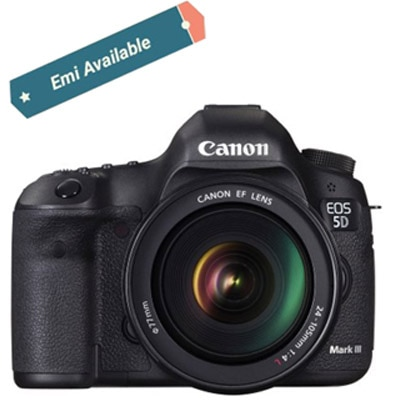 Canon EOS 5D Mark III Kit (With EF 24-105 mm...