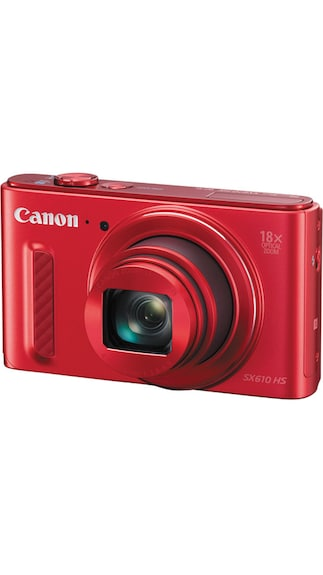 Canon PowerShot SX610 HS 20.2 MP Advanced Point & Shoot Camera (Red)
