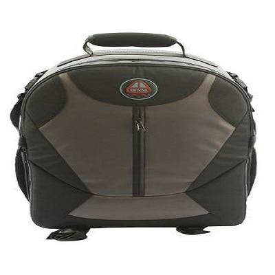 ginni Backpack Camera Bag (Grey & Orange)