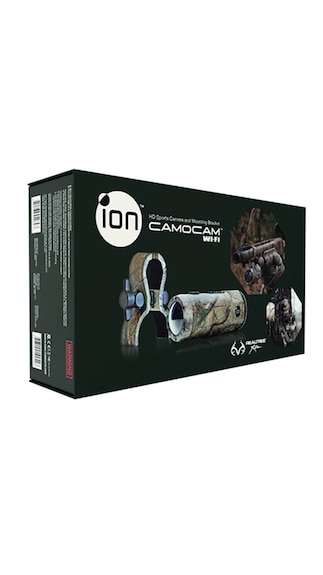 Ion Camocam 14 MP WIFI HD Waterproof Sports & Action Camera (Brown)