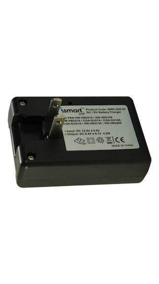 Ismart-Camera-Battery-Charger-For-CGR-DU07/CGR-DU14/CGR-DU21-(Black)