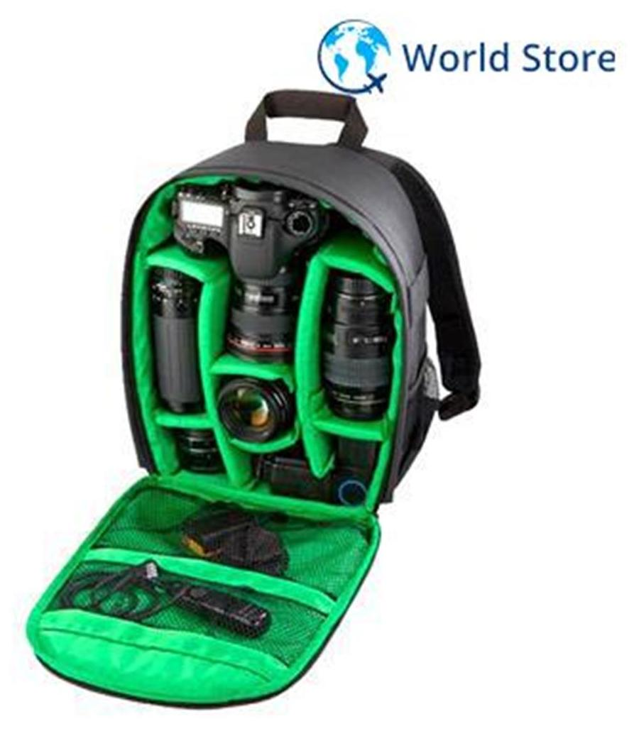 Magideal Tigernu DSLR Camera Bag Black Green