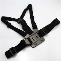 Mobilegear Adjustable Body Chest Strap Belt Mount for GOPRO HERO, SJCAM, Yi & Other Action Cameras