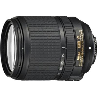 Nikon AF-S DX NIKKOR 18-140 mm f/3.5-5.6G ED VR Lens (Black) Image