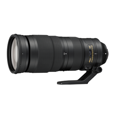 Nikon AF-S NIKKOR 200-500 mm f/5.6E ED VR Lens (Black) For DSLR Camera Image