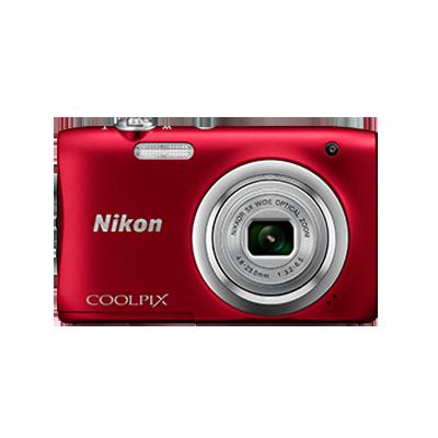 Nikon Coolpix A100 20.1 MP Point & Shoot Camera +...