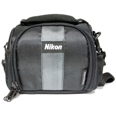 Nikon Coolpix Camera Bag Pouch (Black)