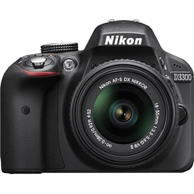 Nikon D3300 (With AF-P 18-55 mm VR Kit Lens) 24.2...