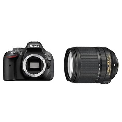 Nikon D5200 (With AF-S 18-140 mm VR Lens) 24.1 MP...