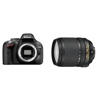 Nikon D5200 (With AF-S 18-140 mm VR Lens) 24.1 MP...