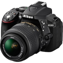 Nikon D5300 (with D-ZOOM KIT: AF-S 18-55mm VRII + AF-S 55-200mm VRII Kit Lenses) 24.2 MP DSLR Camera (Black) + FREE Nikon DSLR Bag + 8GB Memory Card