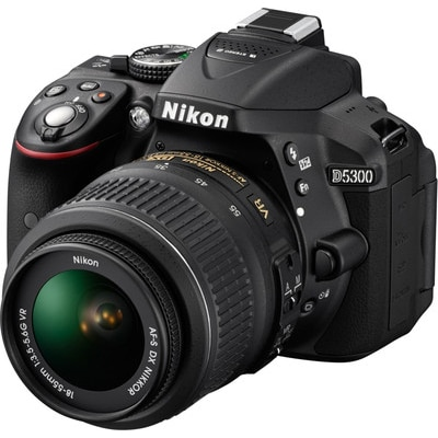 Nikon D5300 (with AF-P 18-55 mm VR Kit Lens) 24.2...