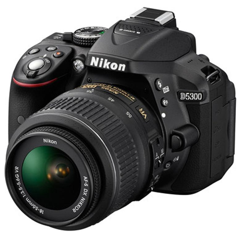 Nikon D5300 Kit (AF-P 18-55 mm VR Kit Lens) 24.2 MP DSLR Camera (Black) + FREE Nikon DSLR Bag + 16GB Memory Card Paytm Mall Rs. 38000.00