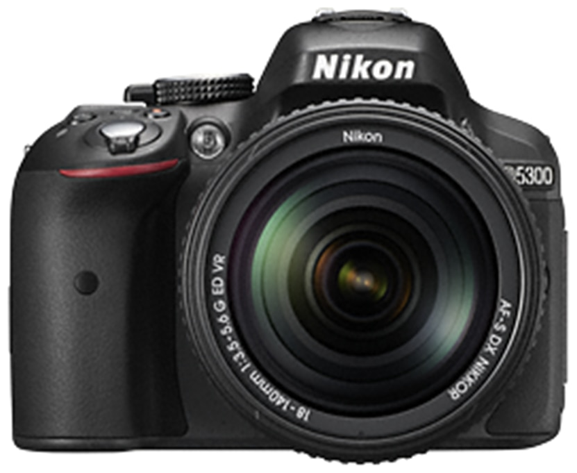 Nikon D5300 D-ZOOM KIT (AF-P DX NIKKOR 18-55mm f/3.5-5.6G VR + AF-P DX NIKKOR 70-300mm f/4.5-6.3G ED VR) + FREE Nikon DSLR Bag + 16GB Memory Card