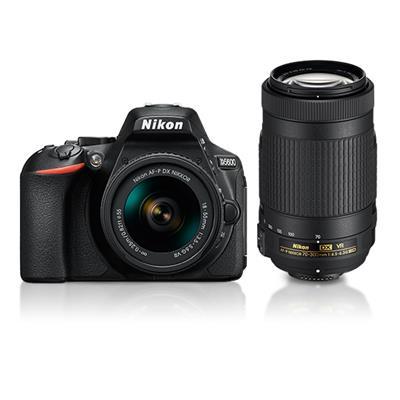 Nikon D5600 (With AF-P DX 18-55 Mm VR + AF-P...