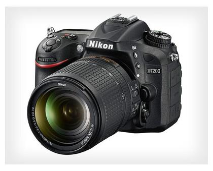 Nikon D7200 24.2 MP DSLR (Black) (Body Only)