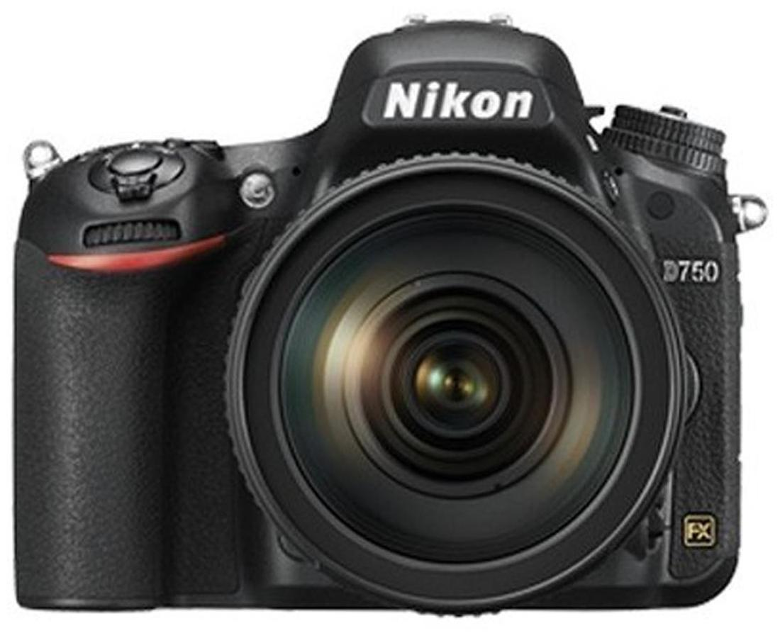 Nikon D750 Kit (24-120mm VR Lens) 24.3 MP DSLR Camera (Black)