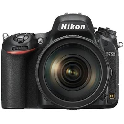 Nikon D750 (With 24-120mm VR Lens) 24.3 MP DSLR (Black)