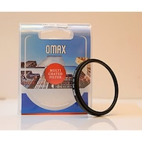 OMAX 52 mm Multi-Coated UV Filter For AF Nikkor 50 mm f/1.8D (Black)
